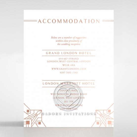 Gatsby Glamour accommodation invite