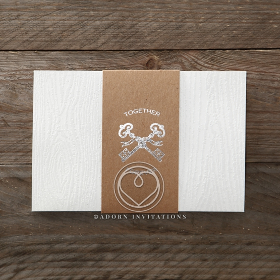 Eternity anniversary party card