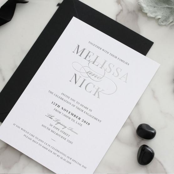 black_white_sivler_invitations