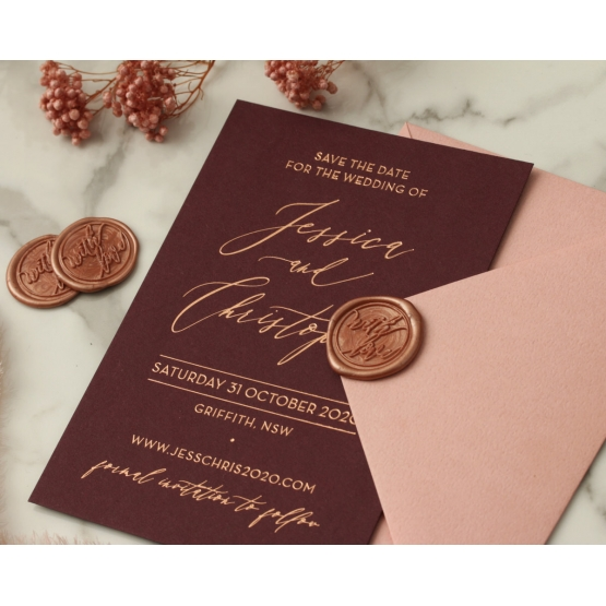 blackberry_and_rose_gold_foil_with_coloured_envelope_and_wax_seal