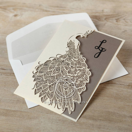 striking-laser-cut-peacock-engagement-invitation-card-HB13518-E