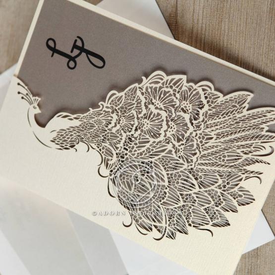 striking-laser-cut-peacock-engagement-invitation-card-design-HB13518-E