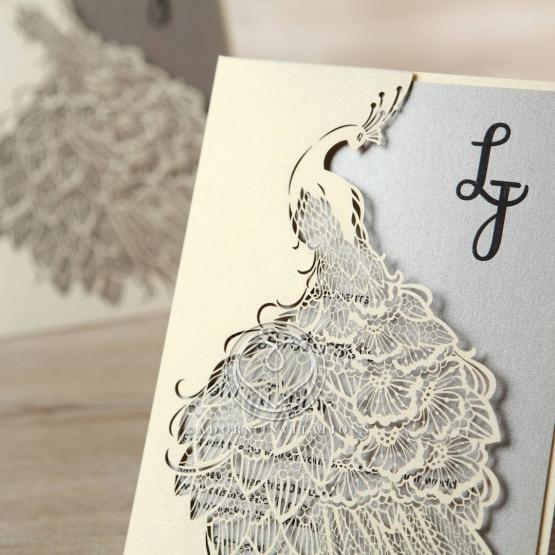striking-laser-cut-peacock-engagement-invitation-design-HB13518-E
