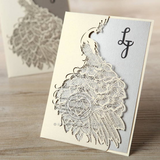striking-laser-cut-peacock-engagement-party-card-HB13518-E