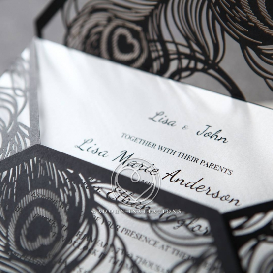stylish-laser-cut-peacock-feather-black-engagement-invitation-design-HB13575-E
