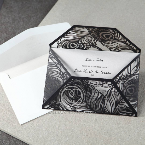 stylish-laser-cut-peacock-feather-black-engagement-party-card-HB13575-E