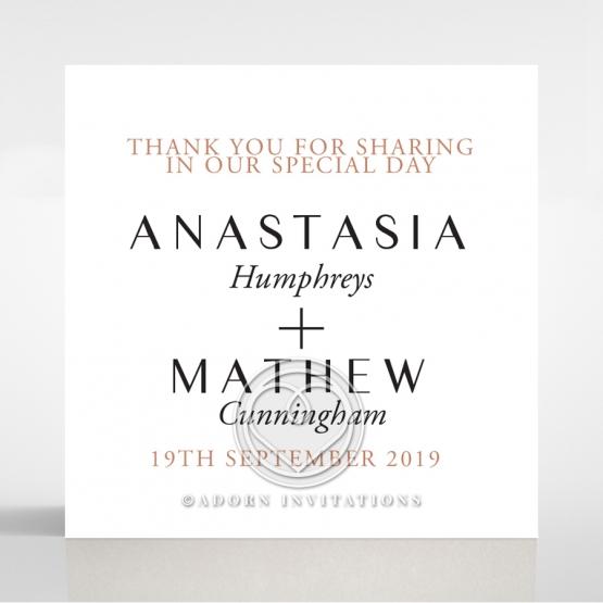 Gatsby Glamour wedding gift tag design