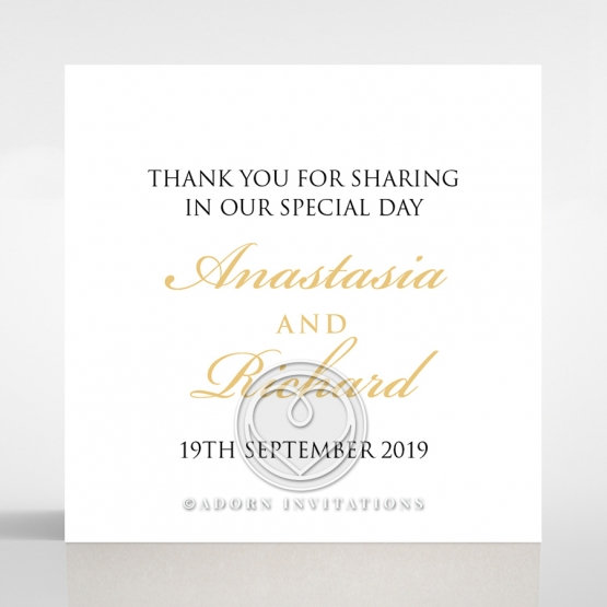 Paper Aristocrat wedding stationery gift tag