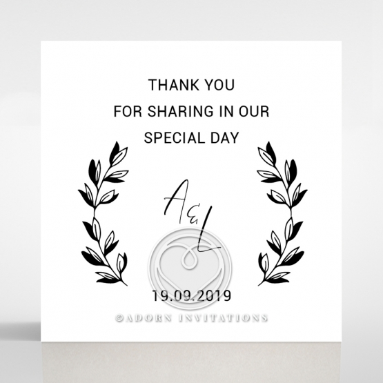 Paper Chic Rustic wedding gift tag stationery item