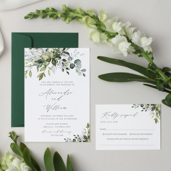 Garden Romance - Wedding Invitations - GI-KI300-CP-02 - 178676