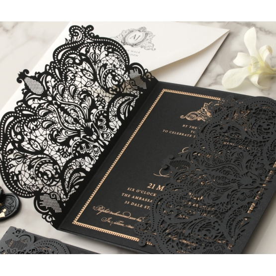 laser_cut_ebony_with_foil_invitation