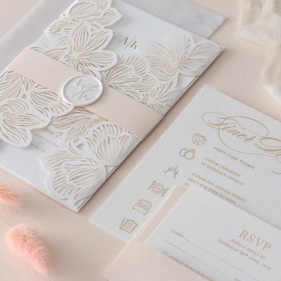 laser_cut_invitation_floral_with_foil_set