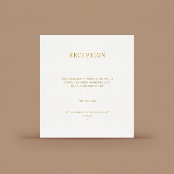 Rustic Lustre (Copy) - Reception Cards - DC116092-GW-GG-1 - 183307