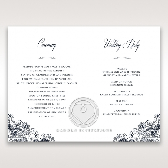 imperial-glamour-without-foil-order-of-service-card-design-DG116022-NV-D