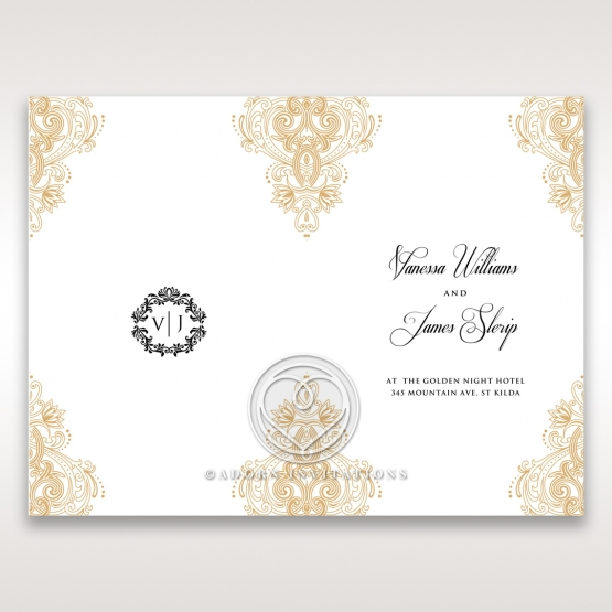 imperial-glamour-without-foil-order-of-service-invitation-card-DG116022-DG