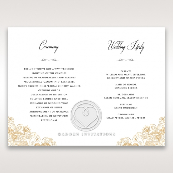 imperial-glamour-without-foil-order-of-service-invitation-card-design-DG116022-DG