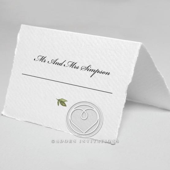Beautiful Devotion wedding venue table place card