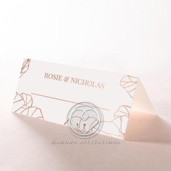 Grand Flora place card design