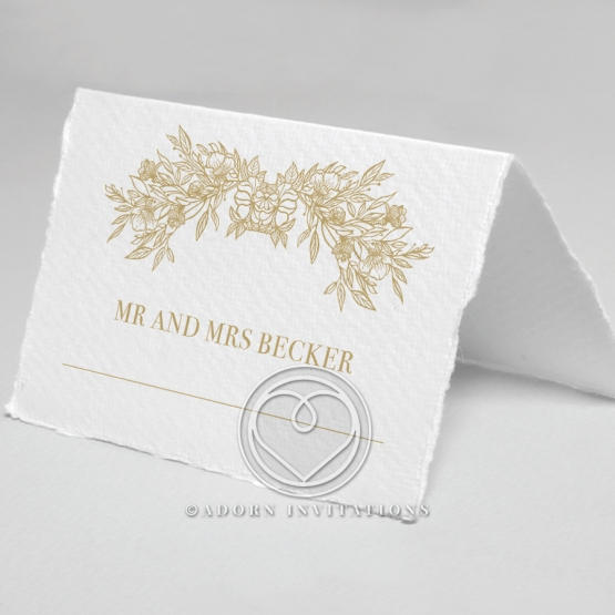 Heritage of Love table place card stationery
