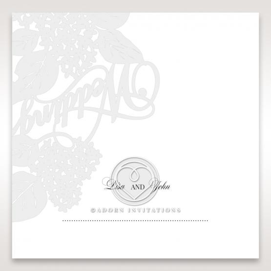 Laser Cut Floral Wedding wedding stationery place card