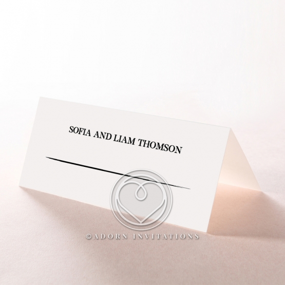 Paper Modern Romance table place card stationery