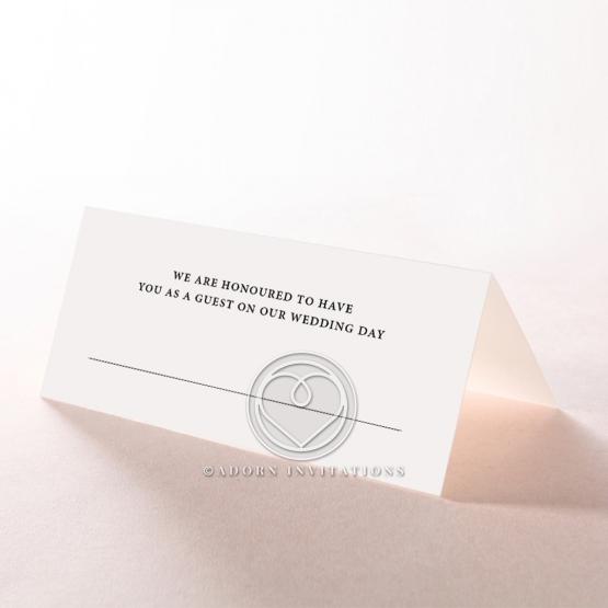 Royal Lace reception place card stationery