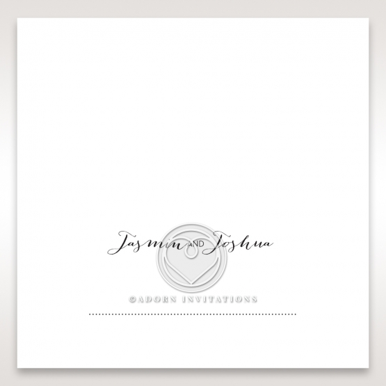 Simply Rustic wedding place card design