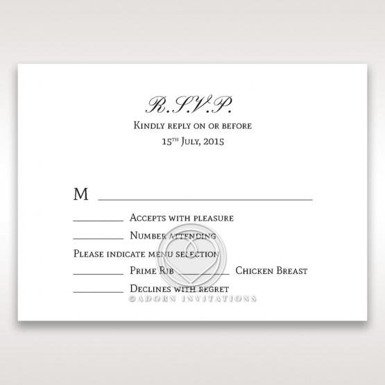 Fragrance rsvp card
