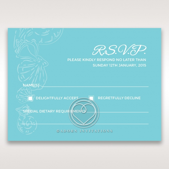 Seaside splendour rsvp design