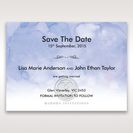 Mythical Garden Laser Cut Pocket save the date stationery card item