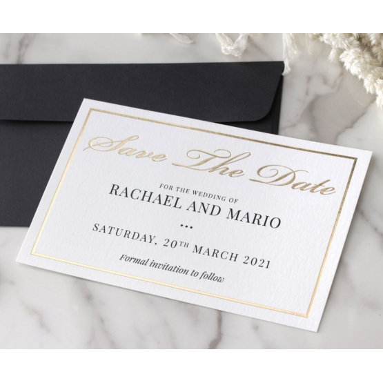save_the_date_card_black_ink_and_foil