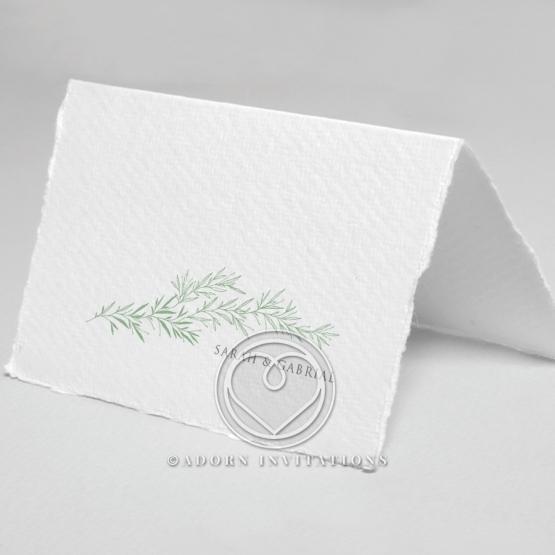 Simple Elegance wedding stationery thank you card item