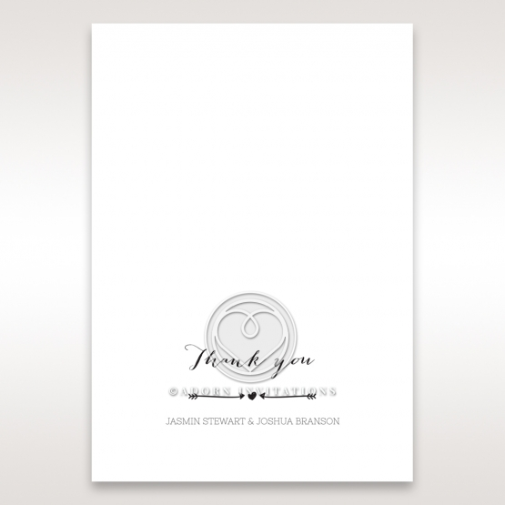 Simply Rustic thank you card