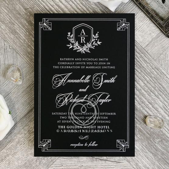 Ace of Spades Invitation Card