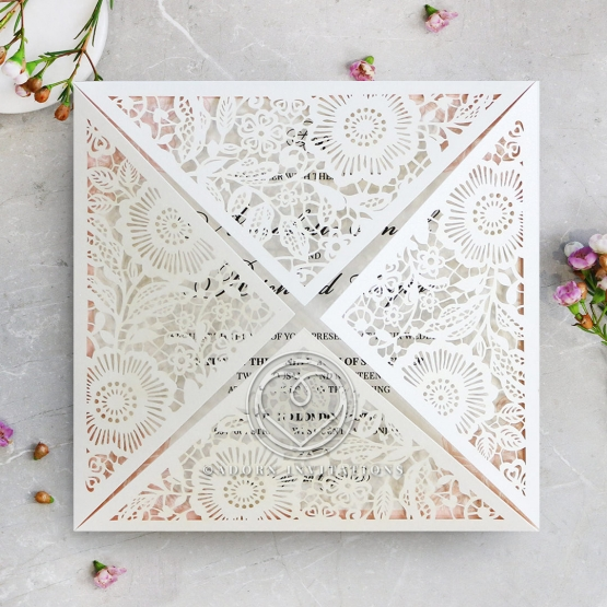 Blooming Charm Invite Design