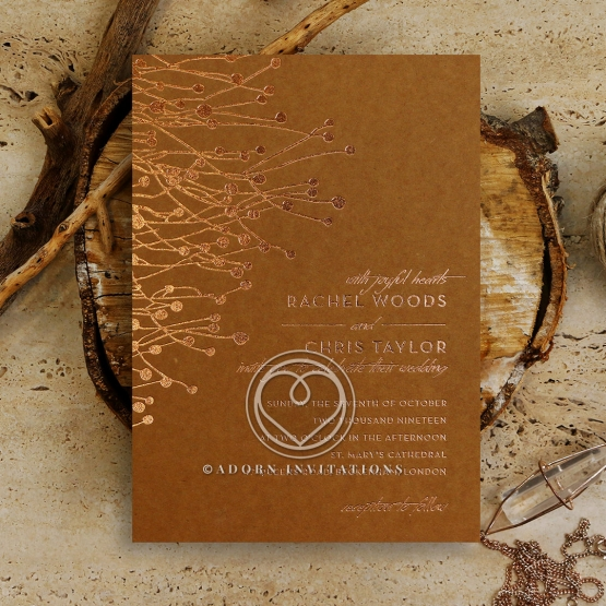 Flourishing Romance Stationery design