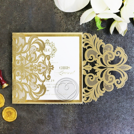 gold-foil-baroque-gates-wedding-invite-card-design-WB13109-F