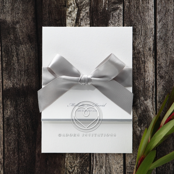 ribbon invitations collection by adorn, Wedding invitations