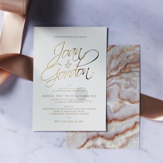 Moonstone Stunning invitation card
