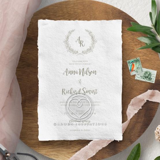 Preppy Wreath Card