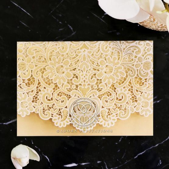 Victorian Lace Card Design