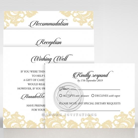 golden-baroque-pocket-wedding-stationery-wishing-well-invite-card-DW150100