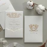 Royal Quilted Half Pocket - Wedding Invitations - WP309GG - 178267