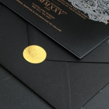 Intricate Royal Lace Half Fold - Wedding Invitations - PWI116142-F-GK-7610 - 178329