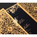 Grandoise Golden Botanical Gates - Wedding Invitations - PWI116022-NV-7615 - 178302