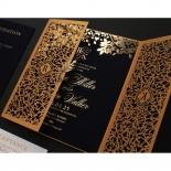 Grandoise Golden Botanical Gates - Wedding Invitations - PWI116022-NV-7615 - 178300