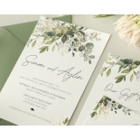 Gold Glam Greenery - Wedding Invitations - WP-CP02-GG-01 - 179094