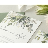 Gold Glam Greenery - Wedding Invitations - WP-CP02-GG-01 - 179093