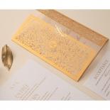 Letterpressed & Foiled Golden Botanical Gates - Wedding Invitations - PWI116022-DG-C-7618-7626 - 178533