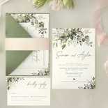 Gold Glam Greenery - Wedding Invitations - WP-CP02-GG-01 - 179089